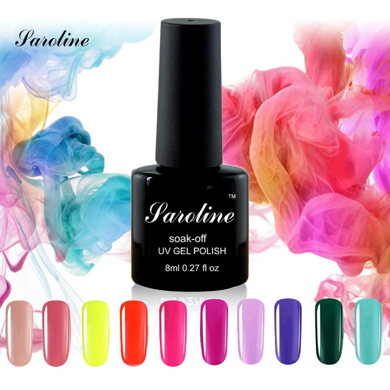 Saroline 8 ml font b Nail b font Varnish UV font b Gel b font UV