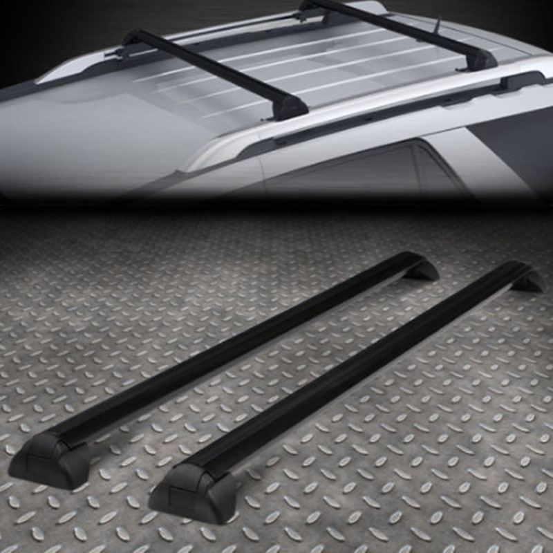 FOR 02 07 SATURN VUE OE STYLE ALUMINUM ROOF RACK RAIL CROSS BAR LUGGAGE CARRIER
