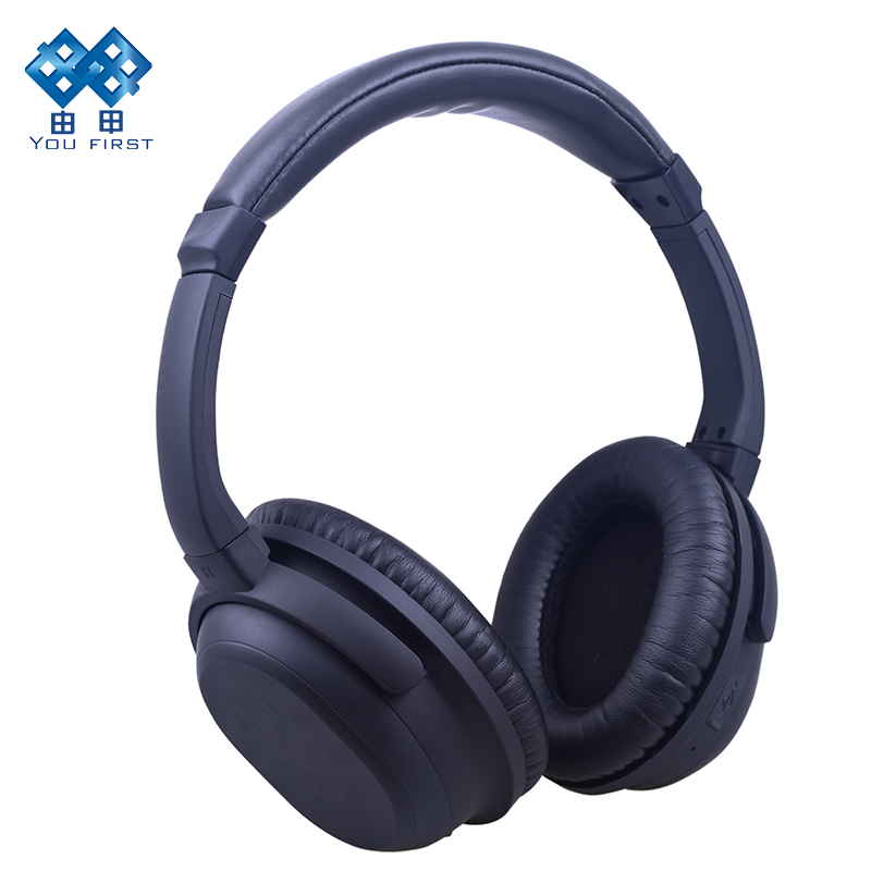 YOU FIRST Bluetooth casque sans fil stéréo suppression de bruit casque mains libres casque sans fil Bluetooth avec Microphone