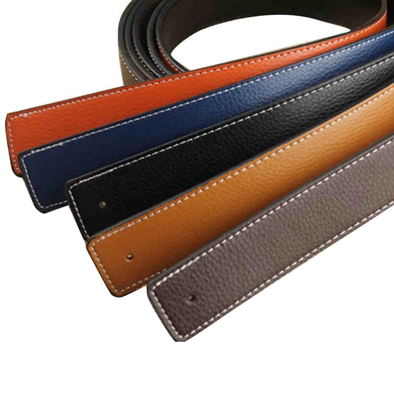 Designers Luxury Brand   Belts   for Men High Quality Pin Buckle Male Strap Genuine Leather Waistband Ceinture Homme,No Buckle for H