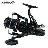 yumoshi Fishing Reels Front/Back Brake Wheel KM Series Metal Rocker Arm 11 Bearing Metal Spool