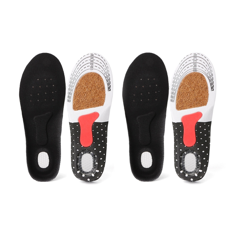 Men/Womens Sport Running Insoles Orthotic Insert Shoe Pad Arch Support Cushion
