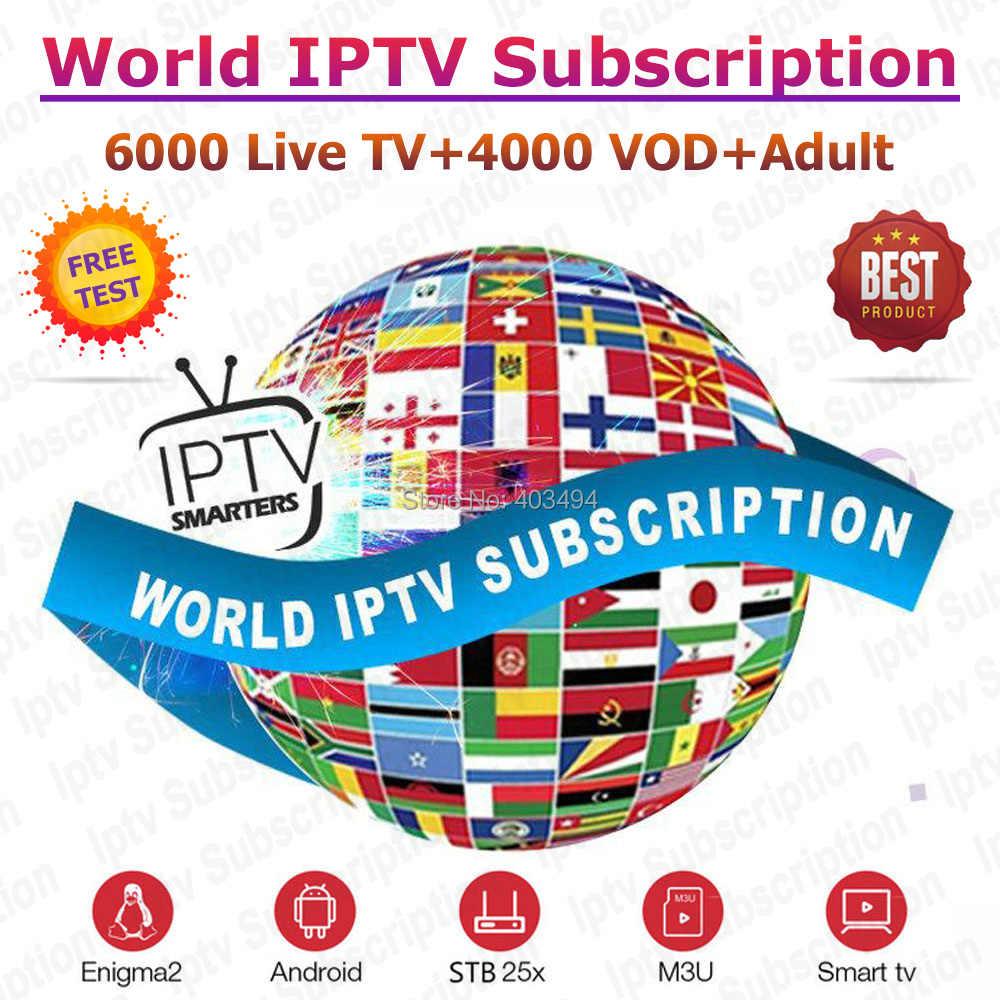 Best Stable World IPTV M3U Subscription 1 Year IPTV Spain Portugal IPTV Italia HD German Greece USA CA Channels for Smart TV