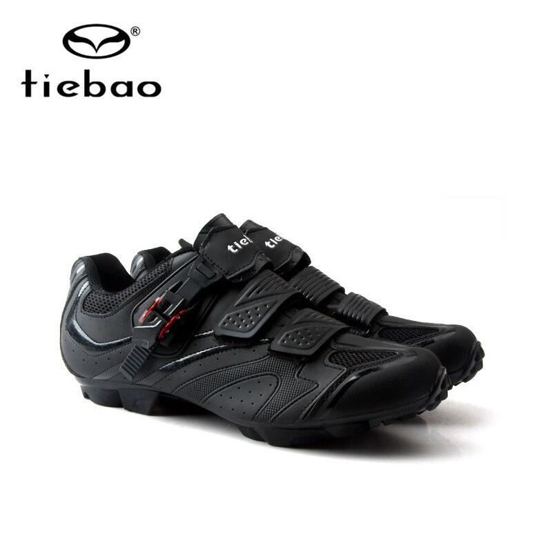 Купить с кэшбэком Tiebao Cycling Shoes sapatilha ciclismo mtb Men sneakers Women mountain bike shoes Self-Locking superstar original Bicycle Shoes