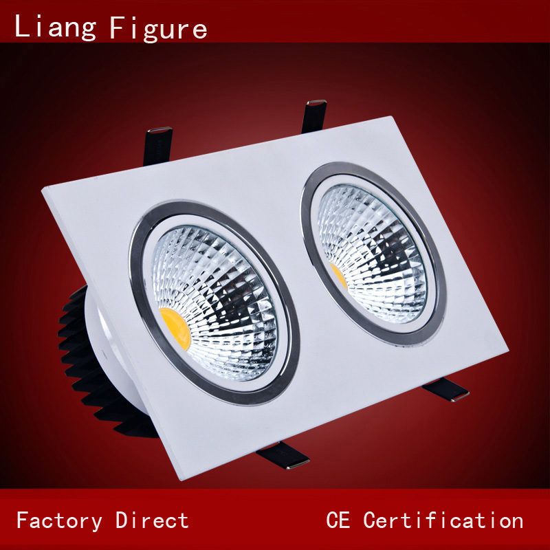5W led Kitchen lights LED ceiling spotlights headed LED double Grille LED backlight headed Spotlight LEDbackground Spotlight