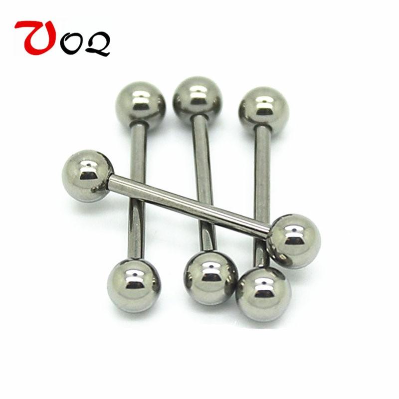 Free Shipping G23 Titanium Barbell Labret Ring Ear Nail -6427