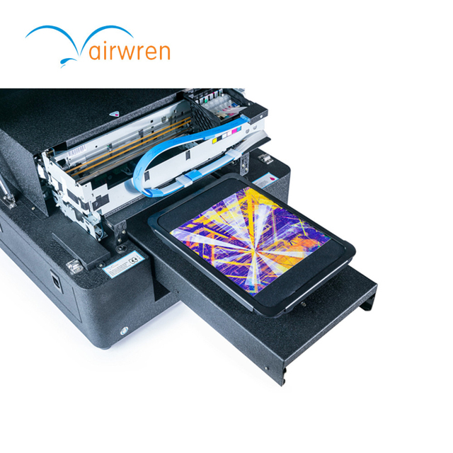 Barato camiseta máquina de impresión precio 6 color A4 dtg impresora ...