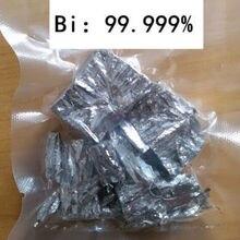 100 граммов высокой чистоты 99.999% висмута биметаллические комочки