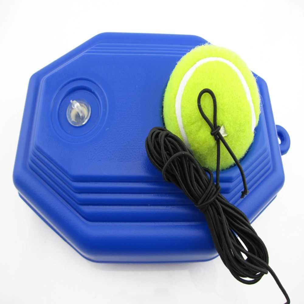 Tenis eğitmeni aracı ribaund süpürgelik eğitim topu tenis kendinden çalışma oyuncu egzersiz ekipmanları aracı yeni