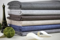 Free Ship Cotton Linen Waterproof Canvas Fabric 8 Colors For Choice Sold By Yard 55