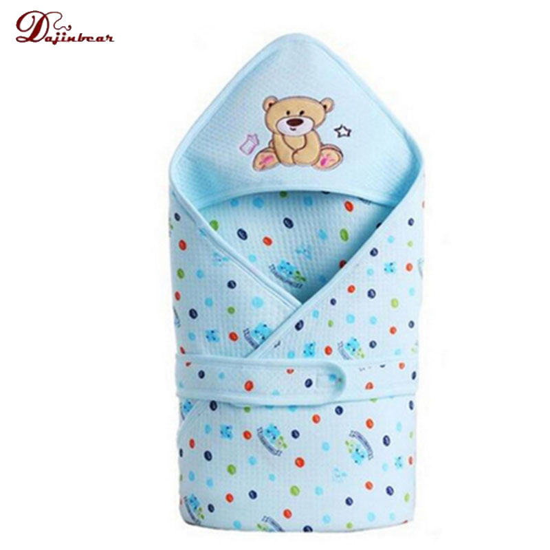 infant Baby cotton Cattle Envelope Baby blanket sleeping bag for newborn wrap sleepsack cartoon baby blanket swaddling Updated