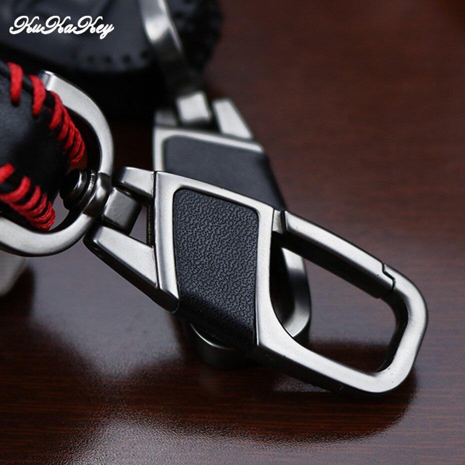 Leather Key Cover Case For Chevrolet Cruze Spark Aveo Sonic Siverado Volt Camaro SAIL TRAX MALIBU CAPTIVA Keychain Accessories