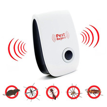 Ultrasonic Mosquito Killer Lamp Used For Repelente Bird Scarer Mouse Insect EU/US Plug Repeller Anti