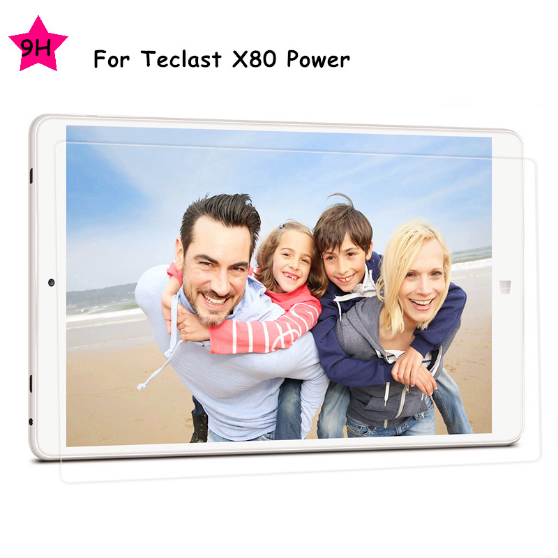 With Tracking For Teclast X80 Power 8 0 Tablet 9H HD Clear Tempered Glass Screen Protector