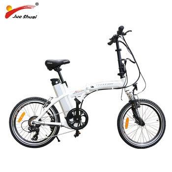 BAFANG-bicicleta eléctrica plegable de 20