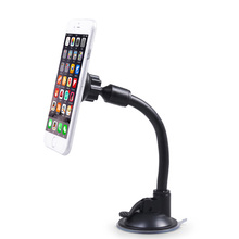 hot deal buy long arm universal magnetic phone stand cradle car windshield dashboard cellphone mount holder , mobile phone accessories