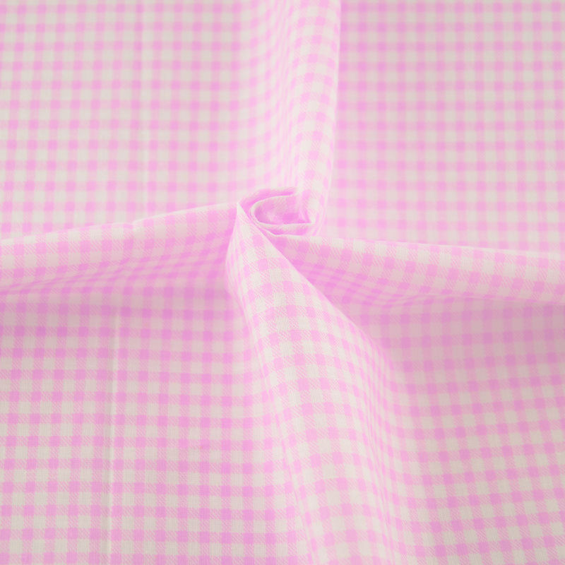 2016 new arrivals art work light pink and white check for New check designs