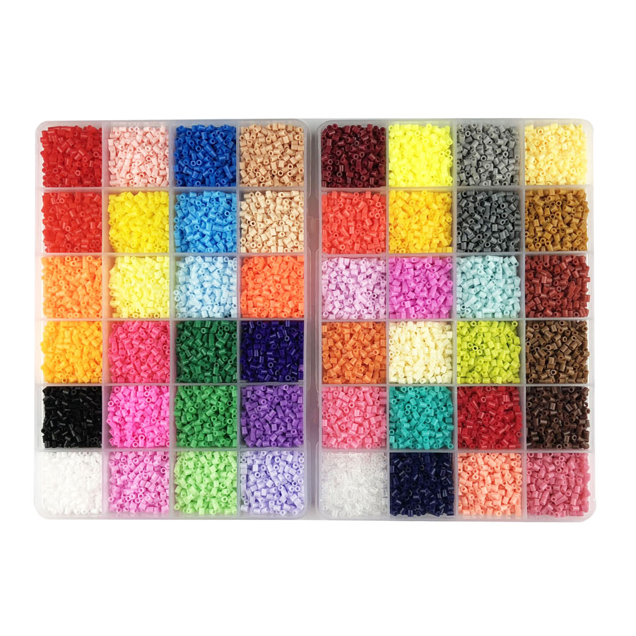 hight resolution of mini 2 6 hama beads 24 48 72 colors perler beads tool and pegboard education toy fuse bead jigsaw puzzle 3d for children