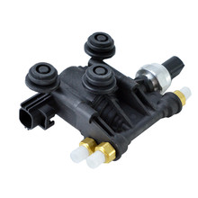 AIR SUSPENSION SOLENOID LEVELLING VALVE BLOCK FOR LAND ROVER RANGE DISCOVERY 3 4  RVH000046