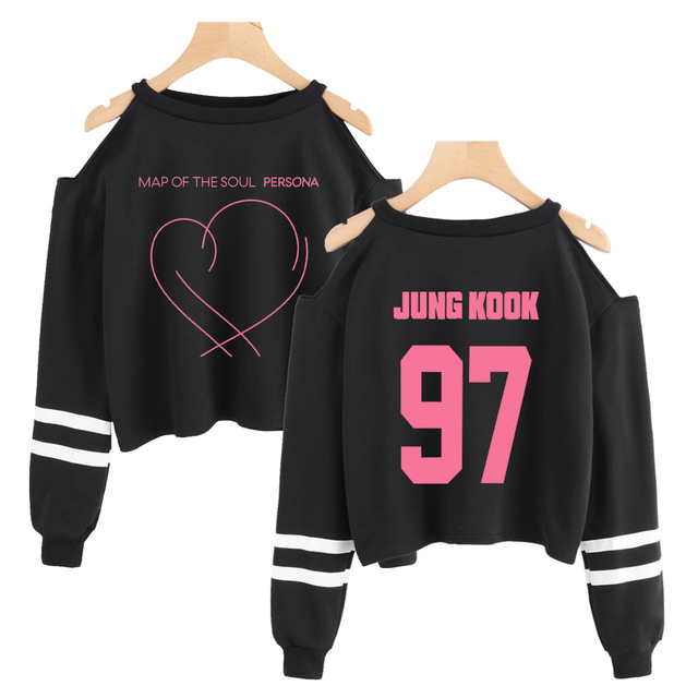 BTS MAP OF THE SOUL PERSONA CROPPED SWEATSHIRT (22 VARIAN)