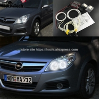 HochiTech Excellent CCFL Angel Eyes Kit Ultra Bright Headlight Illumination For Opel Vectra C Caravan 2005