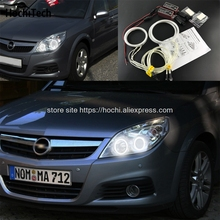 HochiTech ที่ยอดเยี่ยม CCFL Angel Eyes ชุด Ultra bright ไฟหน้าความสว่างสำหรับ Opel Vectra C Caravan 2005 2006 2007 2008