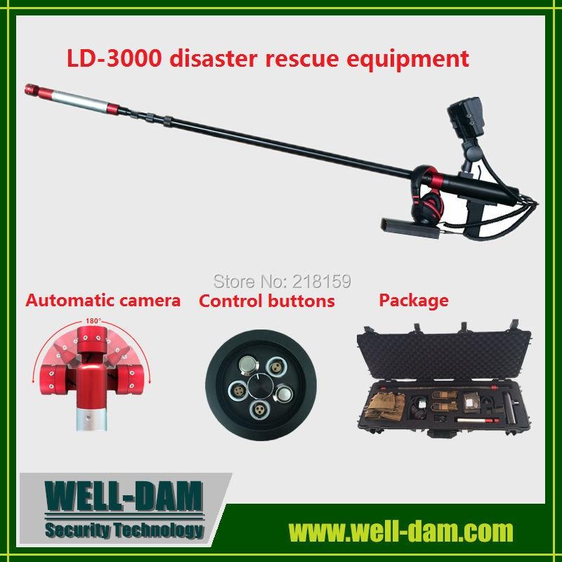Produttore del rilevatore di vita WD-LD3000, attrezzatura di soccorso in caso di disastro utilizzata per il salvataggio del terremoto
