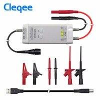 Cleqee DP10013 осциллограф зонд интимные аксессуары Запчасти 1300 в 100 МГц высокое напряжение дифференциал зонд комплект 3.5ns время подъема
