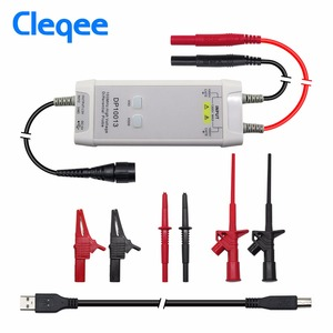 Image 1 - Cleqee DP10013 Oscilloscope Probe Accessories Parts 1300V 100MHz High Voltage Differential Probe kit 3.5ns Rise Time