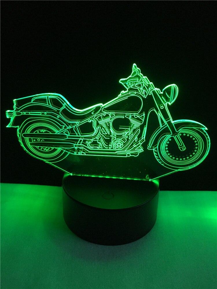Luzes da Noite férias lamparas Formato : Motorcycle