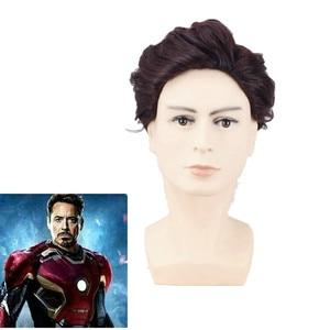 Iron Man Cosplay Wig Tony Star