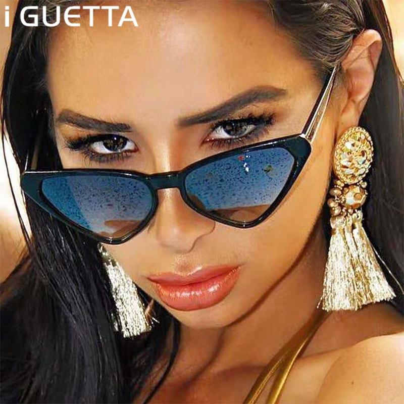 Apparel Accessories Women's Sunglasses Original Iguetta Sunglasses Women 2019 Cat Eye Sun Glasses Women Brand Designer Men Sunglass Vintage Luxury Brand Oculos De Sol Iyjb218