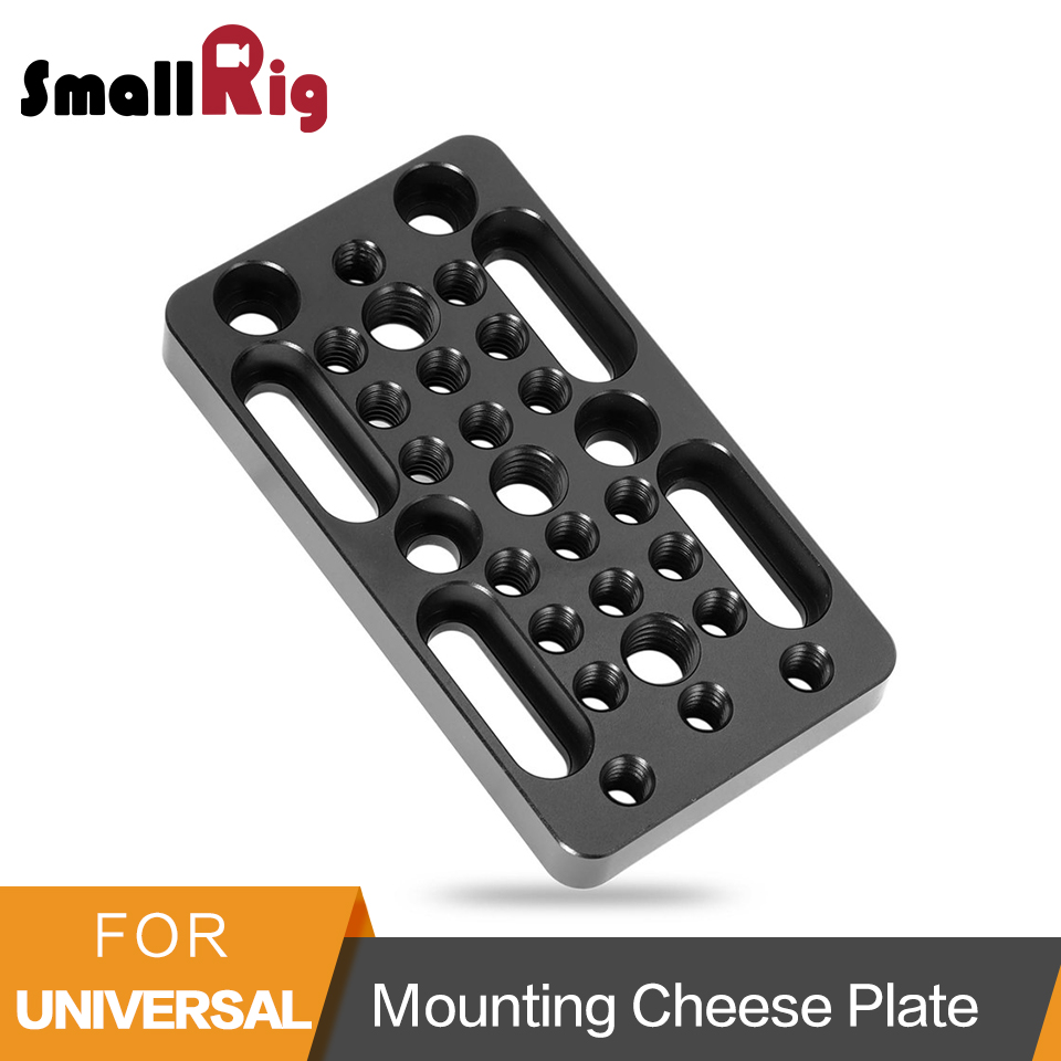 SmallRig Switching Plate Camera Mounting Cheese Plate For Railblocks Dovetails And Short Rods (Longer Version) - 1598
