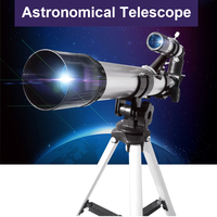 5X18 Astronomical Telescope Finderscope Space Telescope Star gazing Gazer Sightseeing for Beginners Students Outdoor Hiking Camp