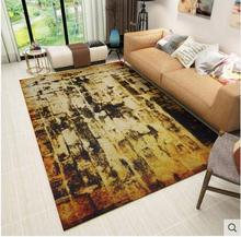 circle carpet on the floor and woven fabrics finished soft texture Can wash machine slippery chair cushion