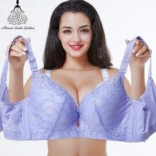 914083703 Push Up Soutien-Gorge Pour Les Femmes Plus La Taille de Soutien-Gorge Sexy  Dentelle Bralette BH Lingerie Sous-Vêtements Grande T..