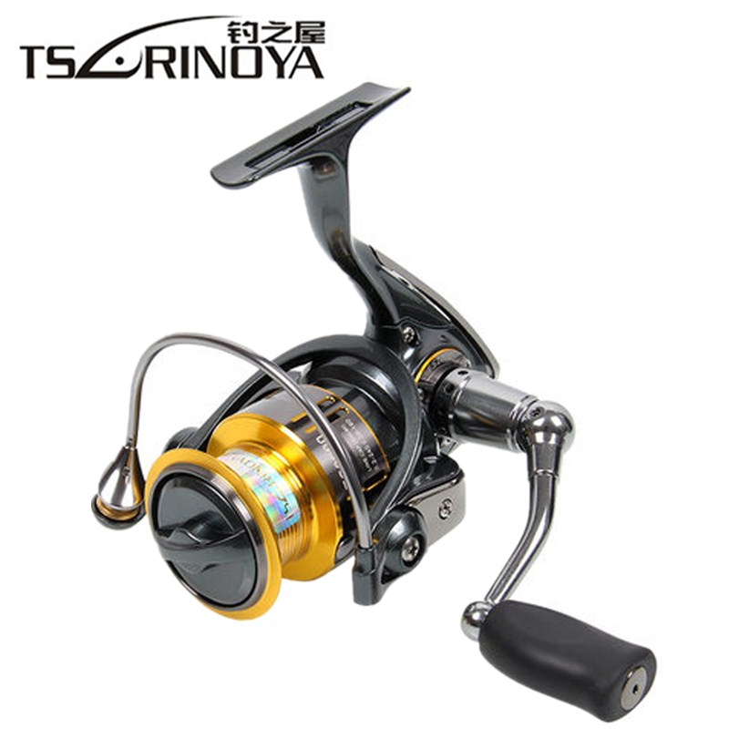 Tsurinoya FS2000/3000 Spinning Fishing Reel 10BB/5.2:1 Saltwater Far Cast Spinning Reel Molinete Peche Carretilha Carretes Pesca tsurinoya tsp7000 distant wheel 8bb 4 9 1 full metal jig ocean boat trolling reel carretes pesca spinning fishing reel molinete