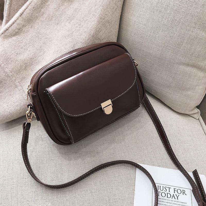 XLMLJYX Womens Handbags Bags Top-Handle Bags Females Tote Crossbody Bags