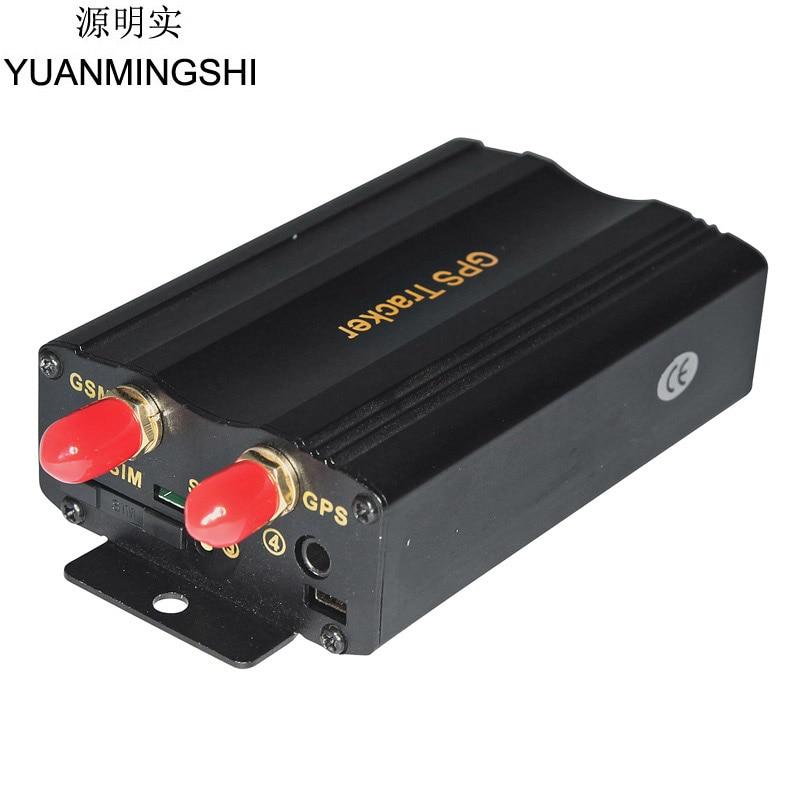 Yuanmingshi автомобиля GPS Real Time Tracker gsm/gprs отслеживания автомобиля GPS трекер + дверь шок Сенсор АКК сигнализации