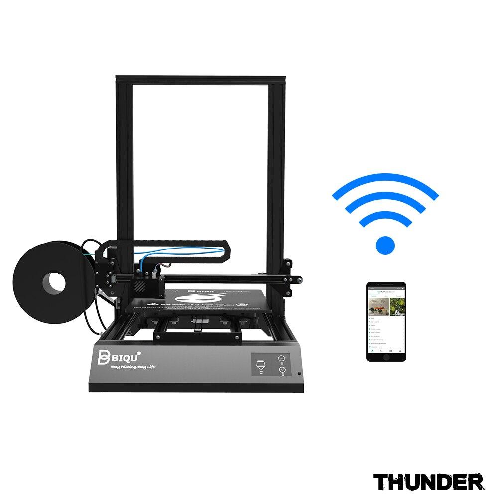 BIQU Tonnerre 3d imprimante grande taille avec APP Auto-off et hors Tension reprendre option d'impression Dua Z Tige 3D Drucker Impresora 3d Pièces