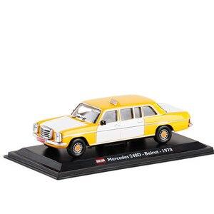 Image 1 - Высококачественная модель из ливанского сплава такси 1:43 1970, модель из металлического литья под давлением, коллекционное и Подарочное украшение, бесплатная доставка