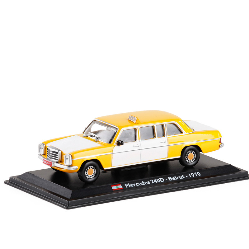 High Quality 1:43 1970 Lebanon Taxi Alloy Model,simulation Die-cast Metal Model,collection And Gift Decoration,free Shipping