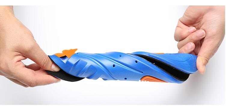 Plantillas suaves Aleafalling, cojín para el cuidado de pie profesional, plantillas de zapato ligeras, desodorante Eva, plantilla de tren ortopédico Is07