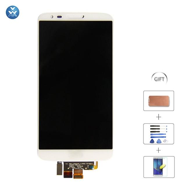 Para LG Optimus G2 tela Lcd e digitador, Para LG G2 Lcd D802 D805 D800 tela F320 Lcd toque montagem moldura da tela ferramenta fita