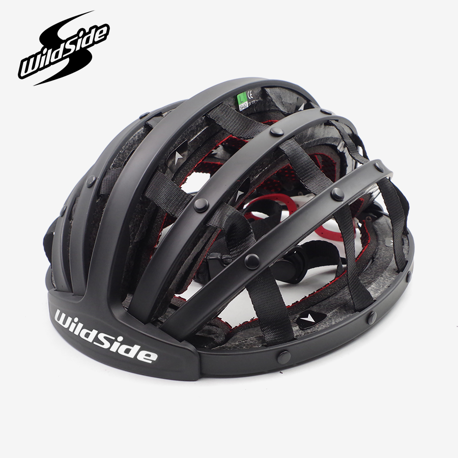 Ultraleve passeio capacete dobrável para homens mulheres cidade capacete de ciclismo estrada mtb mountain bike casco ciclismo equipamentos