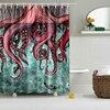Svetanya Comic Octopus Print Shower Curtains Bath Products Bathroom Decor With Hooks Waterproof 71x71 59x71