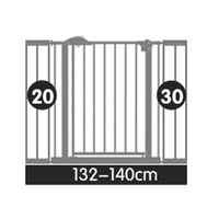 132 200cm many size gate stair gate baby safety door bar pet door