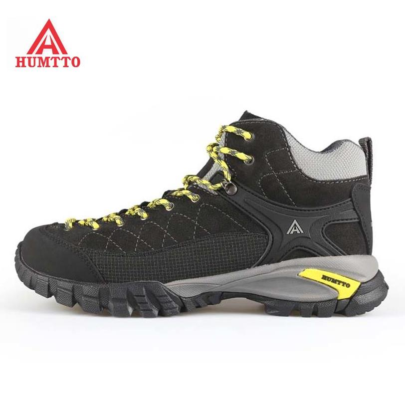 Top Quality Men's Leather Sport Outdoor Hiking Trekking Shoes Boots For Men Wearabel Climbing Mountain Boots Shoes Man selected novels of george eliot