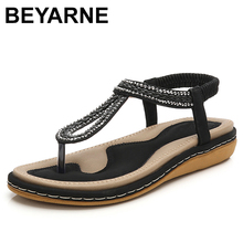 BEYARNES Summer Women Flat Gladiator Sandals Shoes