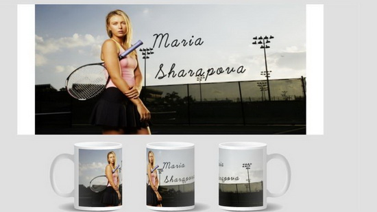 Maria Sharapova Mug birthday gift cup home decal procelain tea cup ceramic coffee mugs tea mugs
